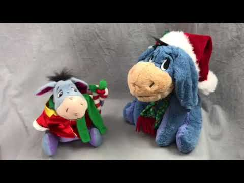 Eeyore Christmas Musical Plush