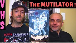 The Mutilator VHS Blu-ray Horror Movie Video Review ! VHS Collection
