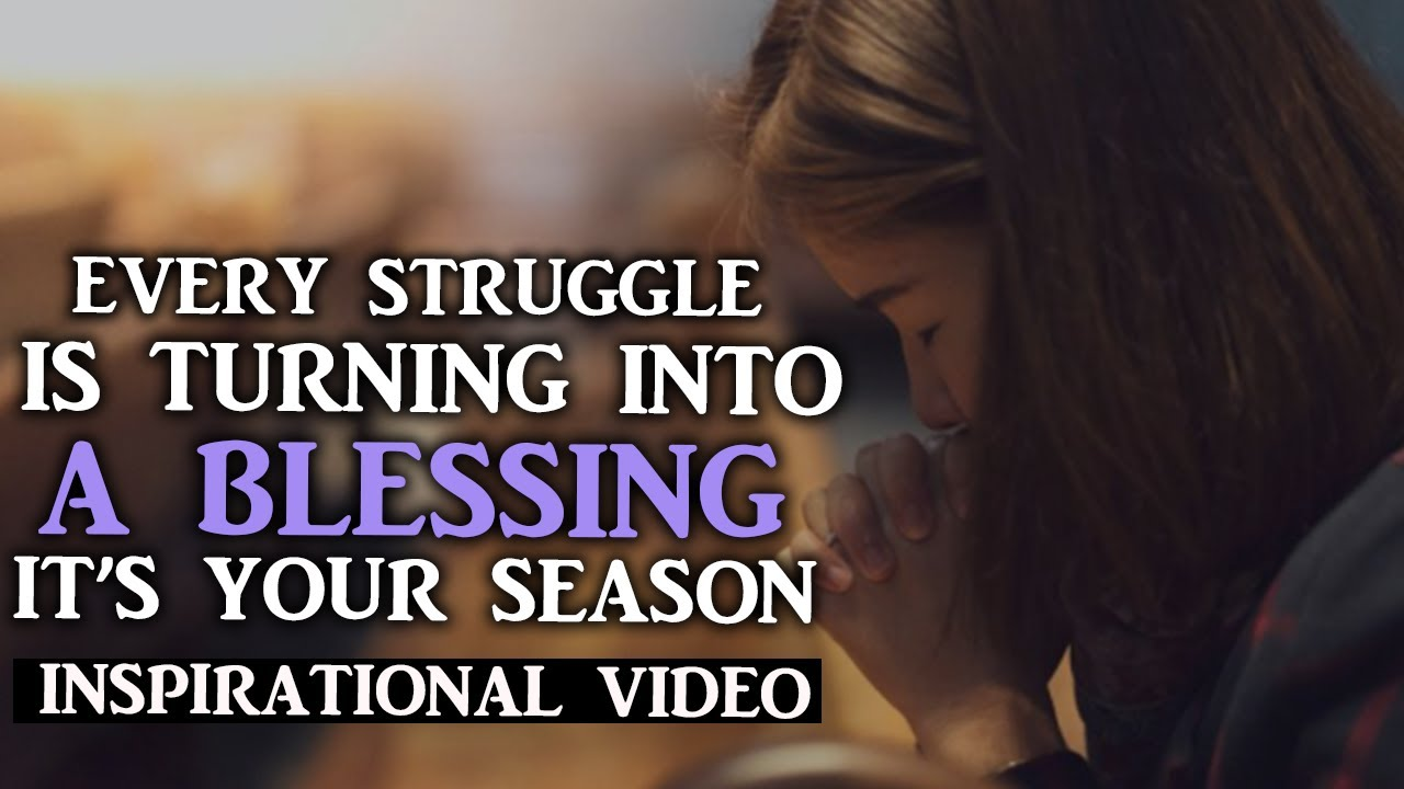 GET READY GOD WILL MAKE THINGS WORK IN YOUR FAVOR IT'S YOUR SEASON - Inspirational Video