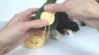 Динозавр крючком. Вязаные игрушки.Вязание для начинающих. Crochet dino. (Урок 4 Детали)