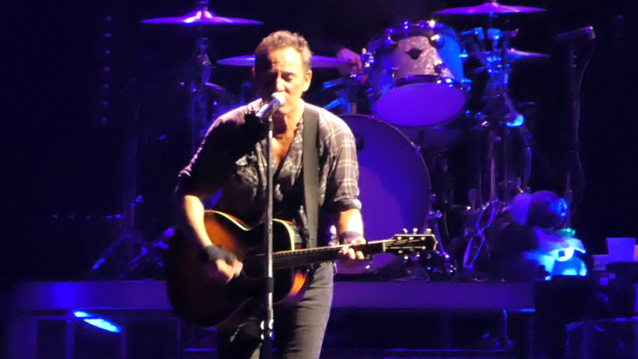 Bruce Springsteen Secret Garden Brisbane 14 02 17 Youtube