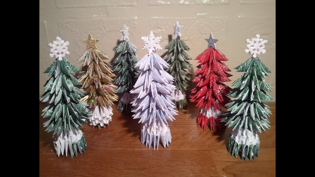 How To Make Small Christmas Tree (updated)