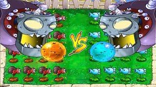 Plants vs Zombies : Dr. Zomboss FIRE  vs Dr. Zomboss ICE thumbnail