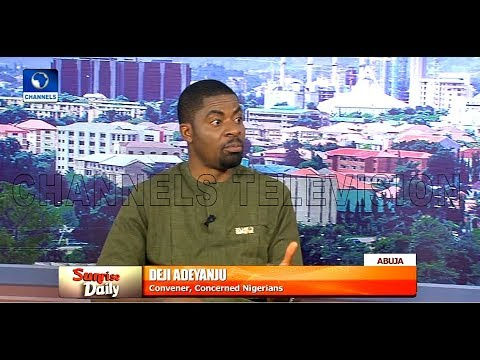 Deji Adeyanju Alleges That Buhari's Trip To UK Is For Medicals |Sunrise Daily|