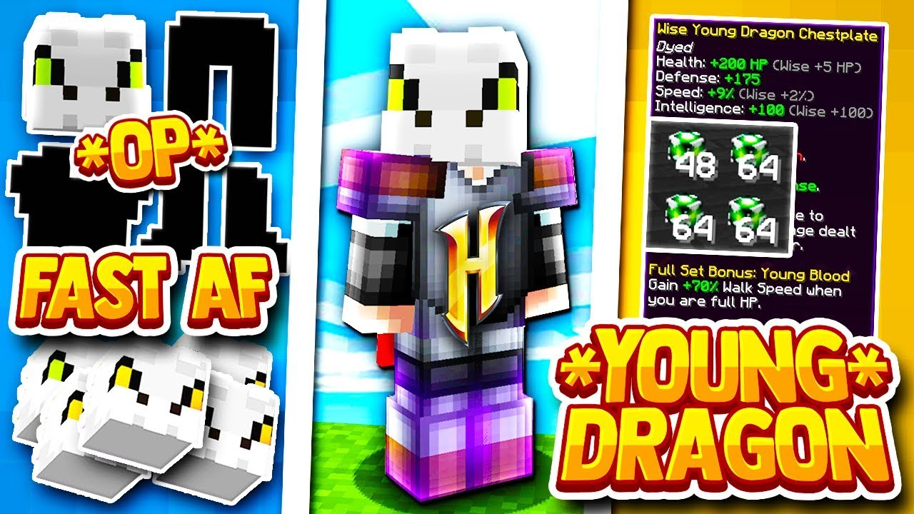 Hypixel Skyblock The Best Dragon Set On A Budget Young Dragon Armor Youtube I'm getting young dragon armor and i need to know this. hypixel skyblock the best dragon set on a budget young dragon armor