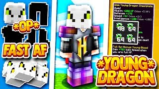 Hypixel Skyblock The Best Dragon Set On A Budget Young Dragon Armor Youtube Young dragon armor from the popular minecraft hypixel game, skyblock, hope you enjoy it! hypixel skyblock the best dragon set on a budget young dragon armor