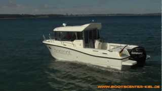 Quicksilver Captur 755 Pilothouse mit 200 PS Mercury VERADO