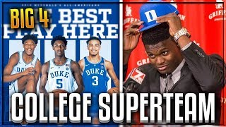 SUPERTEAMS IN COLLEGE!? Top 3 Prospects ALL Choose DUKE!? | 3 Potential #1 PICKS On The SAME TEAM?