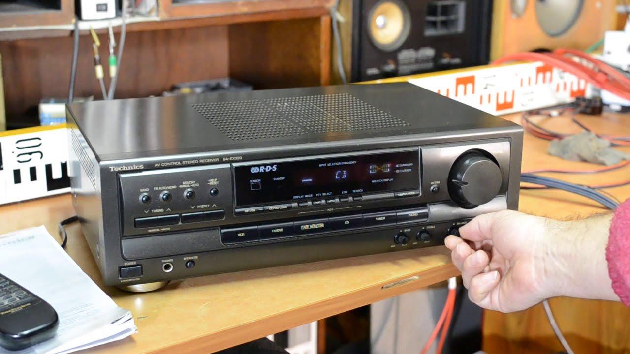 Technics SA-EX 320 Stereo Receiver Tuner Amplifier Verstärker - Home cinema  theater receiver