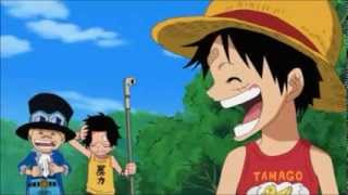 Promesa de Luffy ,  Ace y Sabo
