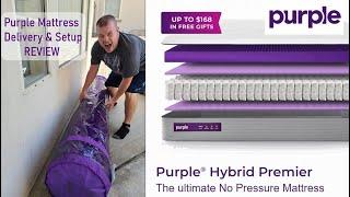 Purple Hybrid Premier 4 Mattre…