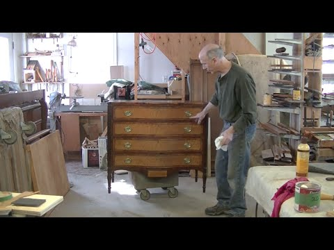 New Banding for an Antique Federal Chest of Drawers - Thomas Johnson Antique  Furniture Restoration - New Banding For An Antique Federal Chest Of Drawers - Thomas Johnson