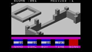 Intentando jugar al Spectrum 76: Ant Attack
