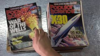 Popular Science Popular Mechanics Magazines 1989-1993