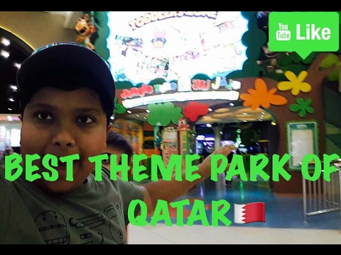 "The Best Theme Park of Qatar ""JUNGLE ZONE"""