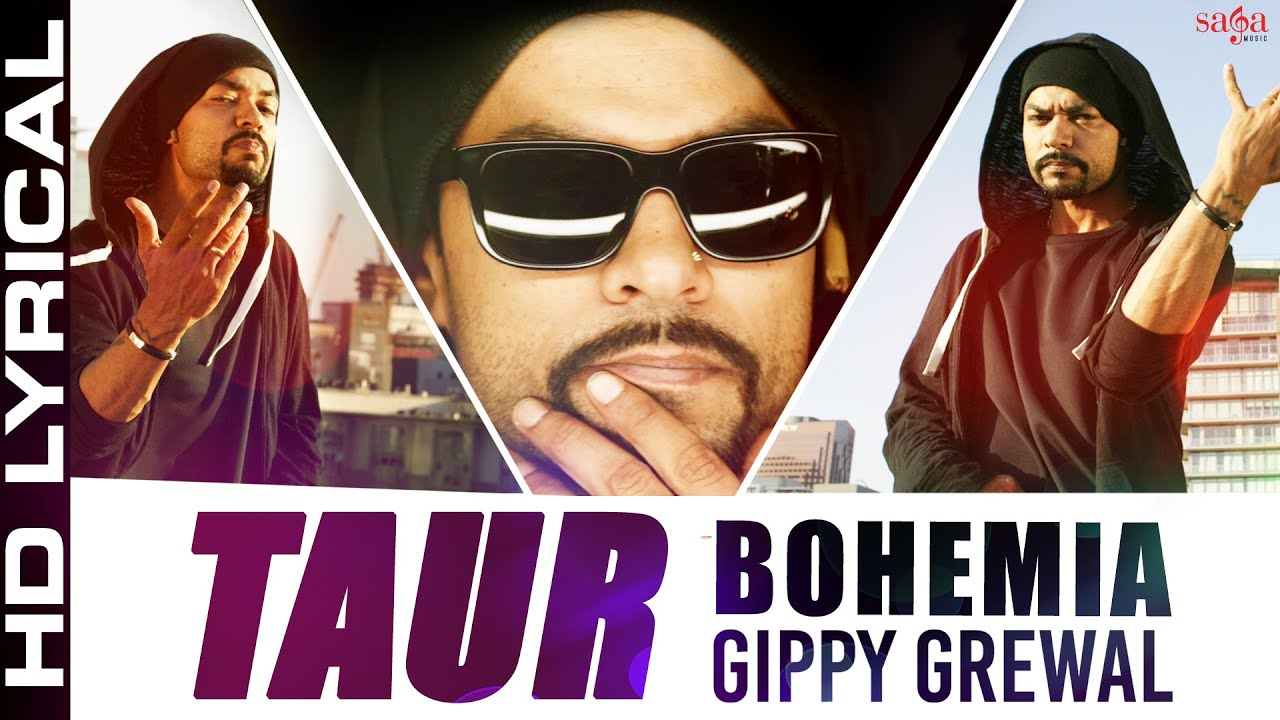 Download Bohemia - Taur Lyrical Ft. Gippy Grewal   Top Punjabi Songs 2015 -Best ever party song - Bohemia Rap