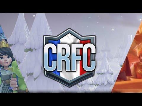 CRFC COUPE DE FRANCE MEILLEURS JOUEURS FR !! Clash Royale !!