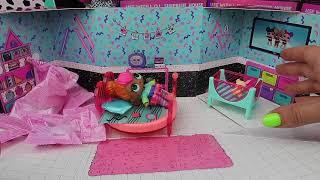 LOL Surprise Yeni Eşyalar Furniture Serisi Neon Q.T Bedroom Yatak Odası Seti! Bidünya Oyuncak 🦄