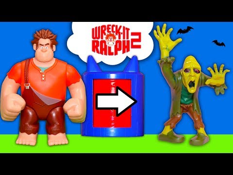 Wreck it Ralph  Lunchbox Hide and Seek with PJ Masks and the Grinch  and Paw Patrol