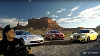 ROAD TO LVL 21 😲 Gran Turismo Sport [PS4] 🏁