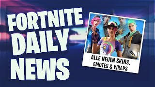 'ALL' NEW SKINS, EMOTES ' WRAPS ' FORTBYTE #59 - Fortnite Daily News (18 juin 2019)
