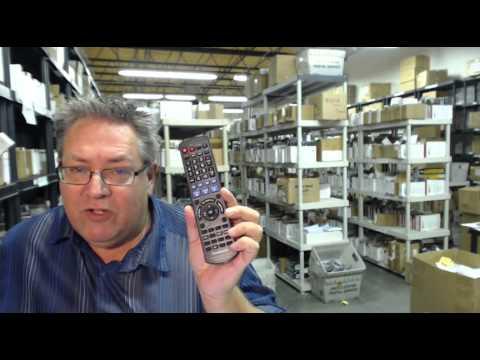 Как настроить универсальный пульт ДУ TV 139F для телевизоров - YouTube