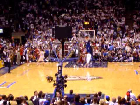 Nets vs Heat - 2005 Playoffs - VC ties it at the buzzer