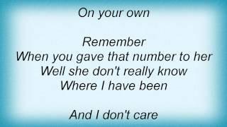 Kelly Osbourne - On Your Own Lyrics