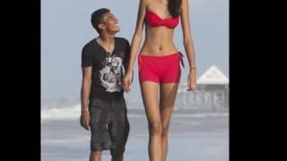worlds tallest bride Aspiring model Elisany da Cruz Silva