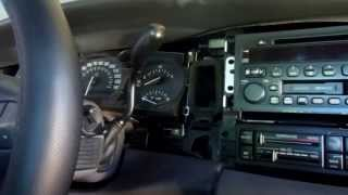 BUICK LESABRE 2003 INSTRUMENT CLUSTER REMOVAL