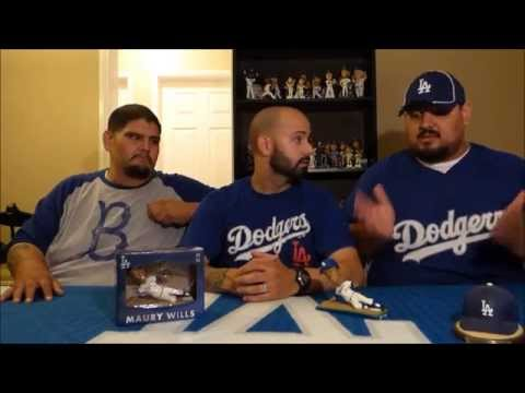 Maury Wills 2015 Dodgers Bobblehead Review