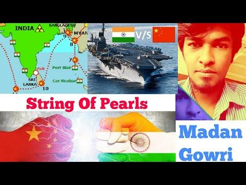 String of Pearls | Tamil | India vs China | Madan Gowri | YouTuber | Indian Ocean | Sri Lanka | USA