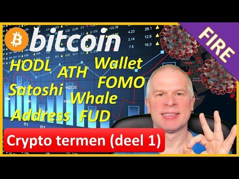 Uitleg Bitcoin en Crypto termen (deel 1)