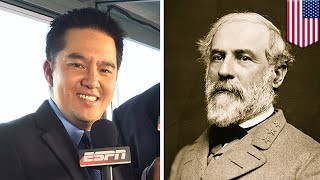 Robert Lee: ESPN flamed for removing Asian anchor Robert Lee from Virginia football game - TomoNews
