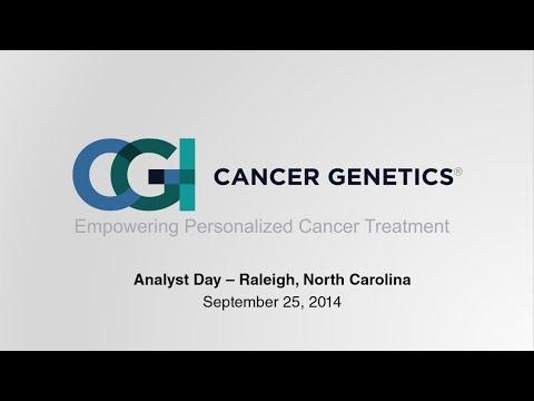 CGIX Analyst Day: Company and Portfolio Updates