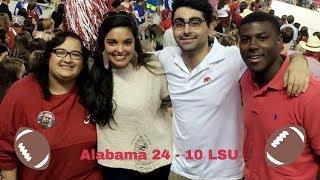LSU vs Bama 🏈   Vlog 11
