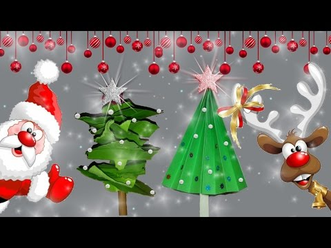 How to Make Paper Christmas Tree🌲⛄| DIY Christmas Ornaments | Christmas Decoration | For kids