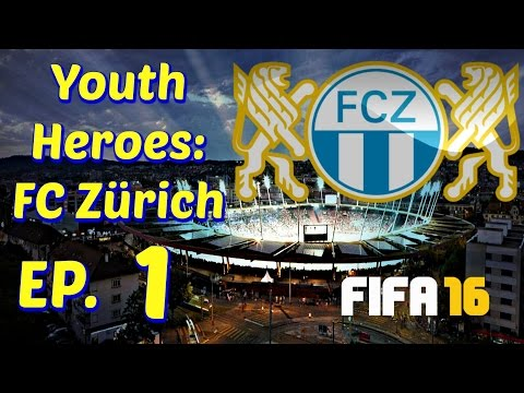 FIFA 16- Youth Heroes: FC Zürich- 1