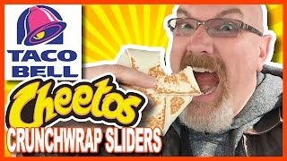 Taco Bell ♥ CHEETOS ♥ Crunchwrap Sliders Review