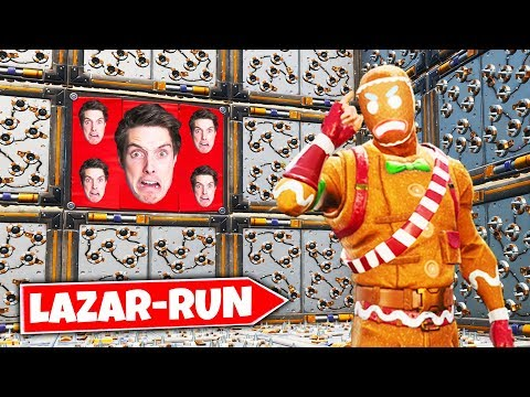 trying the LAZARBEAM DEATHRUN