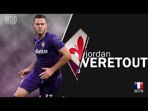Jordan Veretout | Fiorentina | Goals, Skills, Assists | 2017/18 - HD