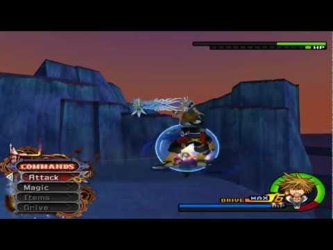 Kingdom Hearts 2 - Sephiroth Boss Fight - Proud Mode HD