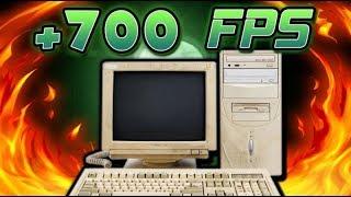 ÇÖP BİLGİSAYAR İLE CSGO'DA +700 FPS ALMAK!😵 (clickbait değil)