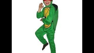 Карнавальный костюм игрушки. Костюм Черепашки-ниндзя(, 2014-12-02T19:33:23.000Z)