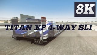 PROJECT CARS 8K PC GAMEPLAY | GTX TITAN X PASCAL 4 WAY SLI | 6950X | ThirtyIR