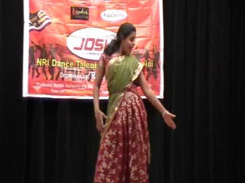 Sushuma Yarlagadda's Yela Yela dance