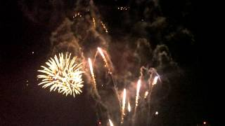 Texas rangers fri night fire works 6-22-12