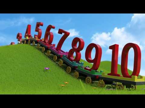 Мультфильм про английские цифры