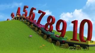 Учим цифры на английском языке для детей - Learn numbers for kids