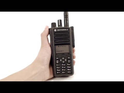 How to use the MOTOTRBO™ XPR 7550